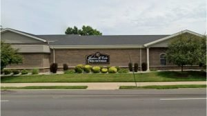 The James H. Cole funeral home in Detroit