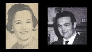 "pictures of Margaret ""Peggy"" Beck, murdered in the summer of 1963, and suspect James Raymond Taylor, photographed in 1961"