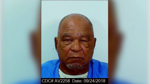 booking photo of Samuel Little dated