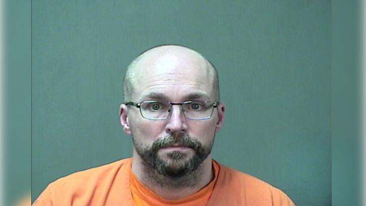 mugshot of Wisconsin pharmacist Steven Brandenburg