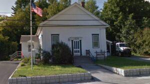 The Croydon, New Hampshire, police station