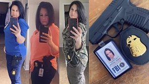 Fake FBI agent Riane Leigh Brownlee
