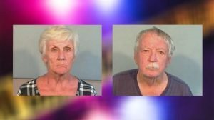 Two seniors fired flare gun are legal process servers