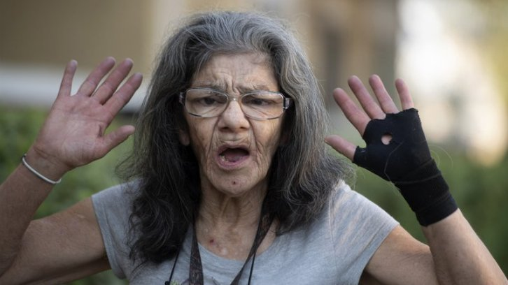 """Lorenza Marrujo, 67, who likes to be called """"Lady Ninja"""""""