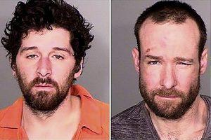 Mugshots of Minnesota men Daniel Gregory Franco and Richard Joseph Wollenberg