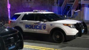 Worcester Police cruiser